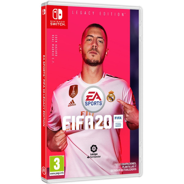 JUEGO NINTENDO SWITCH FIFA 20 (LEGACY EDITION)