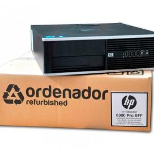 Ordenadores Intel Core i5 HP 6300 Pro Ocasion