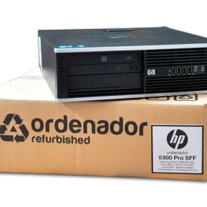 Ordenadores Intel Core i3 HP 6300 Pro Ocasion