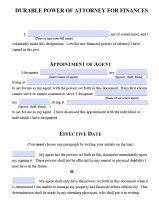 Free Michigan Power Of Attorney Forms   PDF Templates
