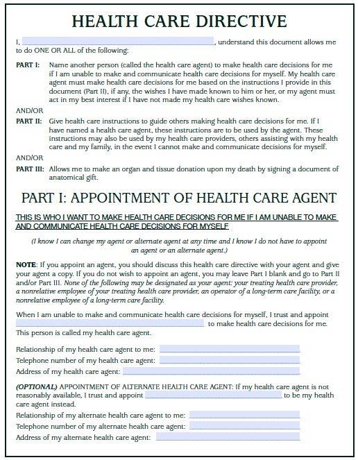 North Dakota Medical Power of Attorney