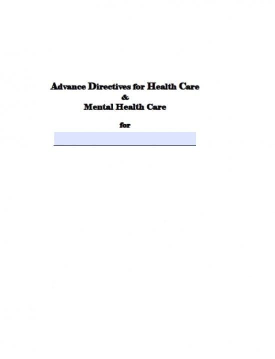 Alaska Medical Power of Attorney Form