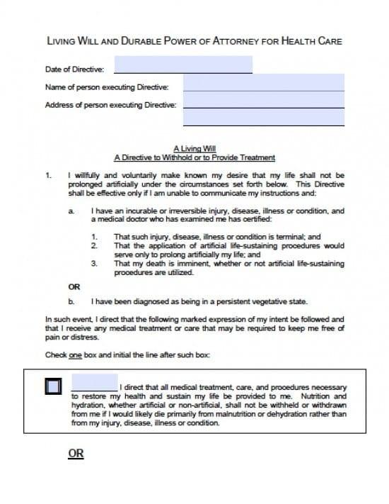 Idaho Medical Power of Attorney Form