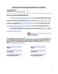 Power Of Attorney To Transfer Motor Vehicle Texas ...