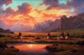 comanche-sunset