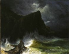 the-storm-shipwreck-by-Eugene-Isabey-001