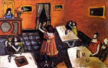 Auguste-Chabaud-Couples-in-a-Bistro
