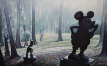 MICKEY IN THE PARK-116x73-2009