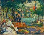 Robert_Antoine_Pinchon,_Un_après-midi_à_l'Ile_aux_Cerises,_Rouen,_oil_on_canvas,_50_x_61.2_cm