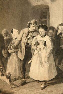 Nach-Karl-von-ENHUBER-1811-1867-Genrebild-Ein-Gerichtstag-_1