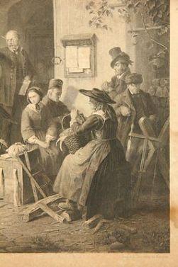 Nach-Karl-von-ENHUBER-1811-1867-Genrebild-Ein-Gerichtstag-_h