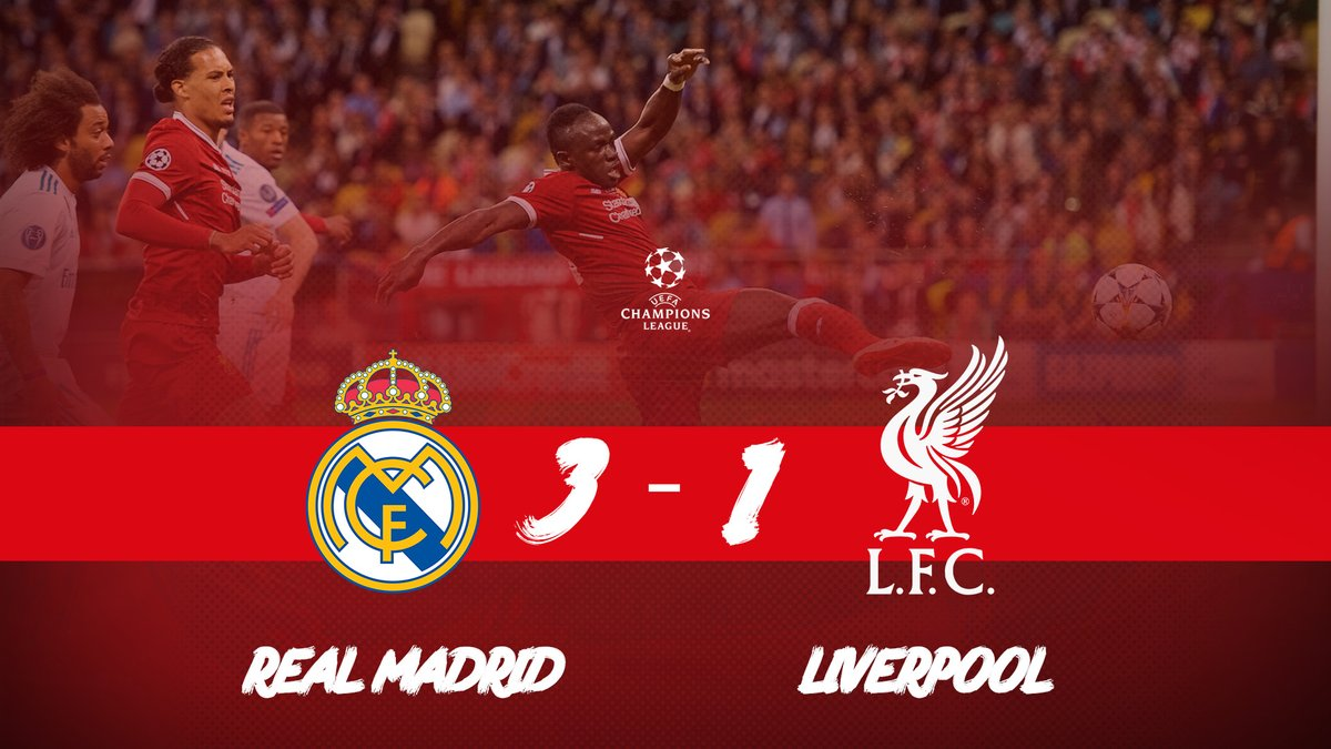 Champions League Final: Real Madrid vs Liverpool 3-1 – Highlights & Goals