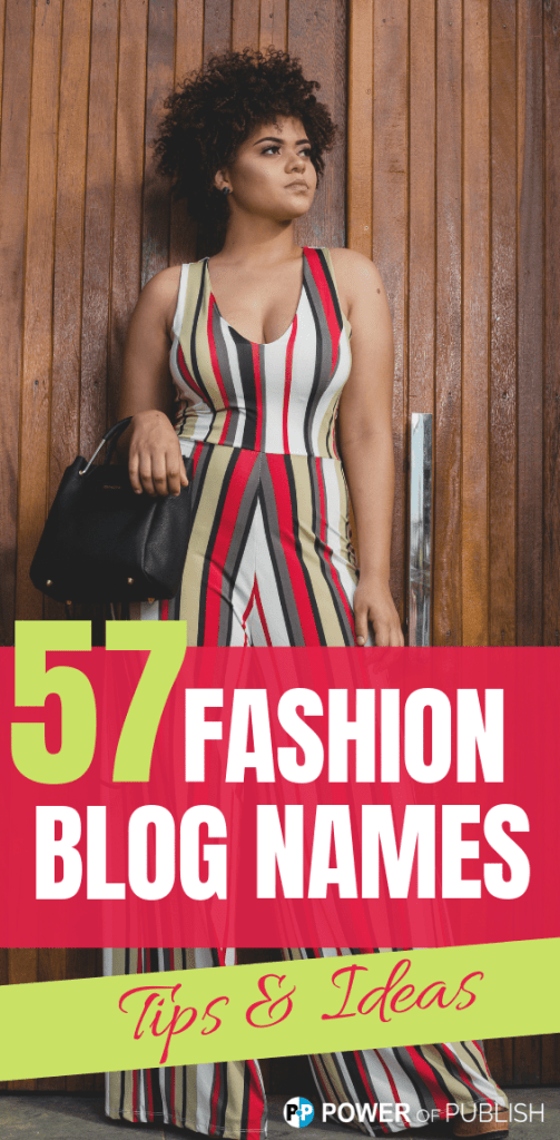 fashionable blogging names