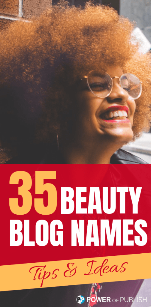 beauty blogging names