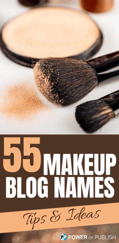 makeup blog names