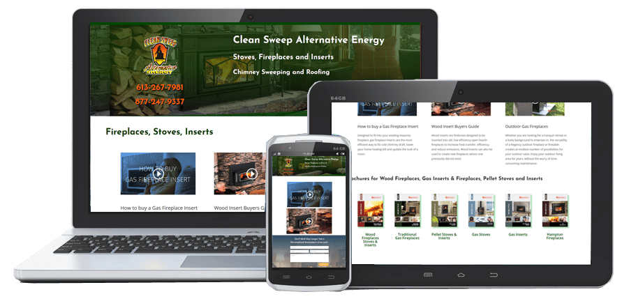 Clean Sweep PowerPages Stittsville Web Design Kanata Ottawa website