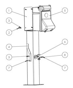 Rv Power Pedestal, Rv, Free Engine Image For User Manual