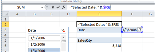 Reference the Report Filter to Get the Slicer Selected Value
