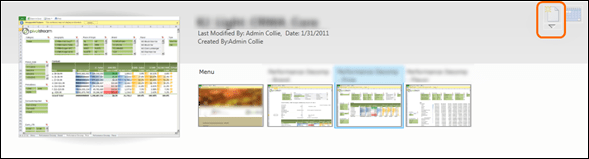 Creating a Thin PowerPivot Workbook from the Gallery