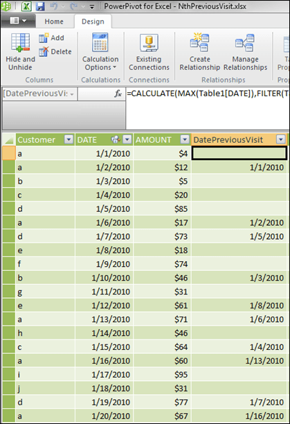 Guest Post: Nth Occurrence DAX Formula - PowerPivotPro