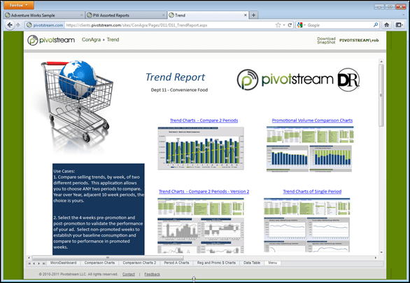 A PowerPivot Doc in the Browser is an Application