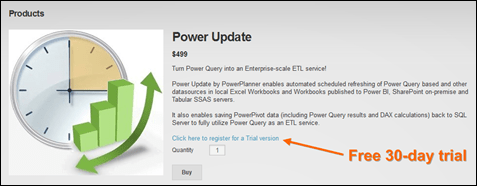 Click for Power Update Trial Download
