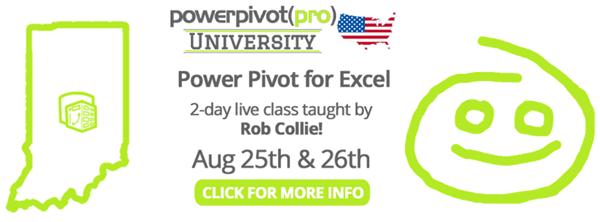 Power Pivot and Power BI Training