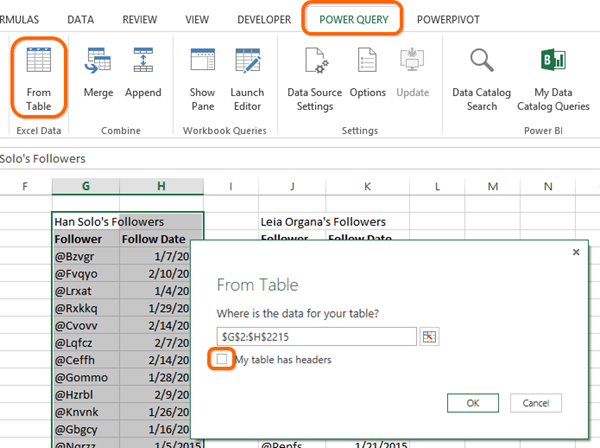 Power Query, aka Power BI Data Import