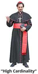 High Cardinality Means Lots of Unique Values. But Perhaps a Religious Figure Too? I Sure Hope People Using Search Engines Find this and Are Very, Very Confused