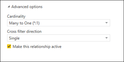 Power BI Advanced Relationship Options: Cardinality and Filter Direction