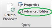 Open the Advance Editor
