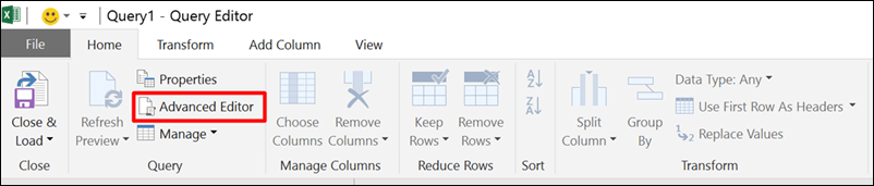 How to append multiple CSV files from a folder in Excel