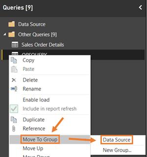 Power BI PQ Move to Existing Folder