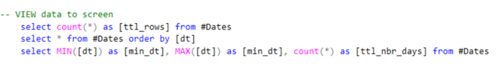 SQL Step 3 View