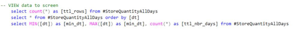 SQL Step 4 View
