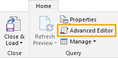 Advanced Editor