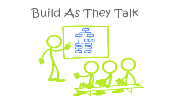 Build As They Talk Banner