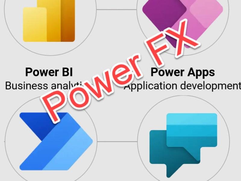 Microsoft Power FX