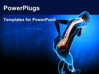 pain powerpoint template anatomy medical body templates ray slide health ppt background 2620 powerplugs title displaying crystalgraphics