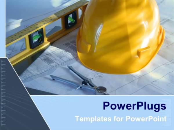 Free Construction PowerPoint Presentation Template