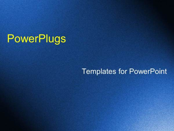 PowerPoint Template a bluish rugged background with shine