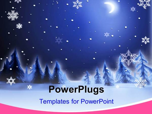powerpoint template christmas