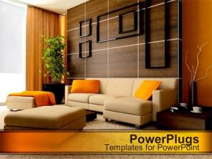 powerpoint living template contemporary exquisite designed interior presentation templates styles basic title powerplugs displaying single