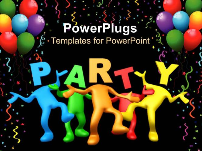 powerpoint party invitation template