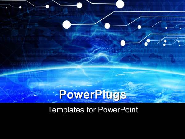 Digital Technology Free PowerPoint Templates PPT
