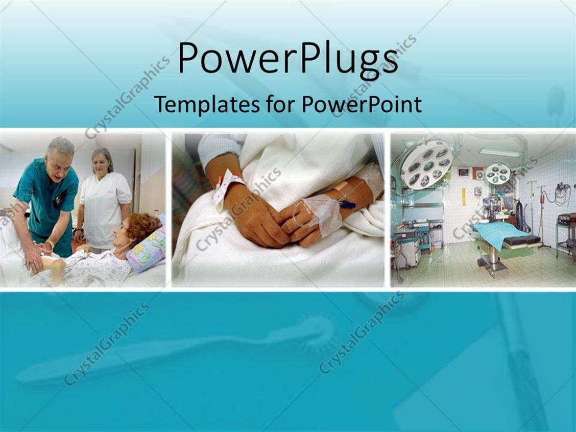 hospital wiring diagram ppt hotpoint dishwasher powerpoint template different patients in the