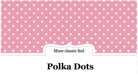 Polka Dots PowerPoint Background 1 Pink PowerPoint Backgrounds