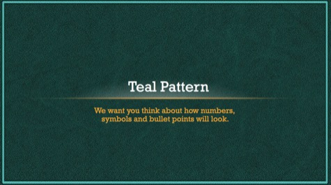 Teal Grunge Pattern PowerPoint Background 1 Blue PowerPoint Backgrounds