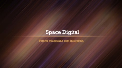 Space Digital Lines PowerPoint Background 1 Brown PowerPoint Backgrounds