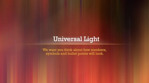 Universal Light Rays PowerPoint Background 1 Brown PowerPoint Backgrounds